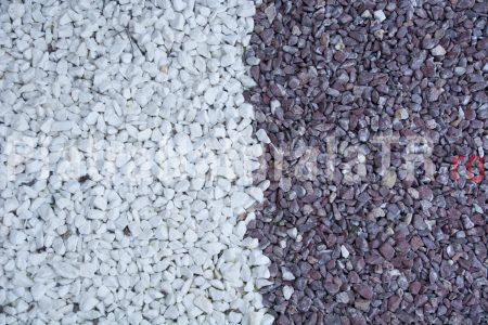 Mozaic de Thassos - diferite marimi - Piatra naturala